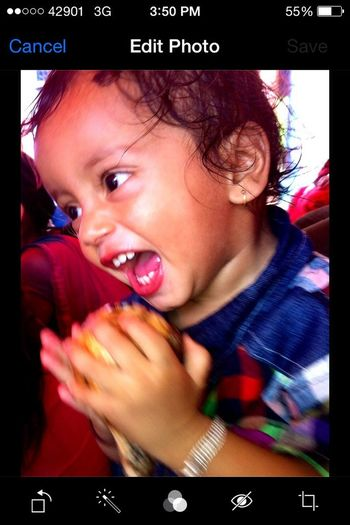 Happy face of my lovely son .... Vanishing Point