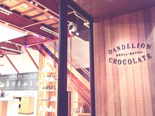 ダンデライオンチョコレート Dandelion Chocolate Chocolate Cafe Chocolate♡ ダンデライオン チョコレート ちょこ
