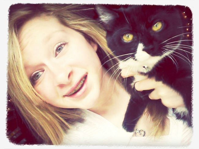 I love this cat ♥