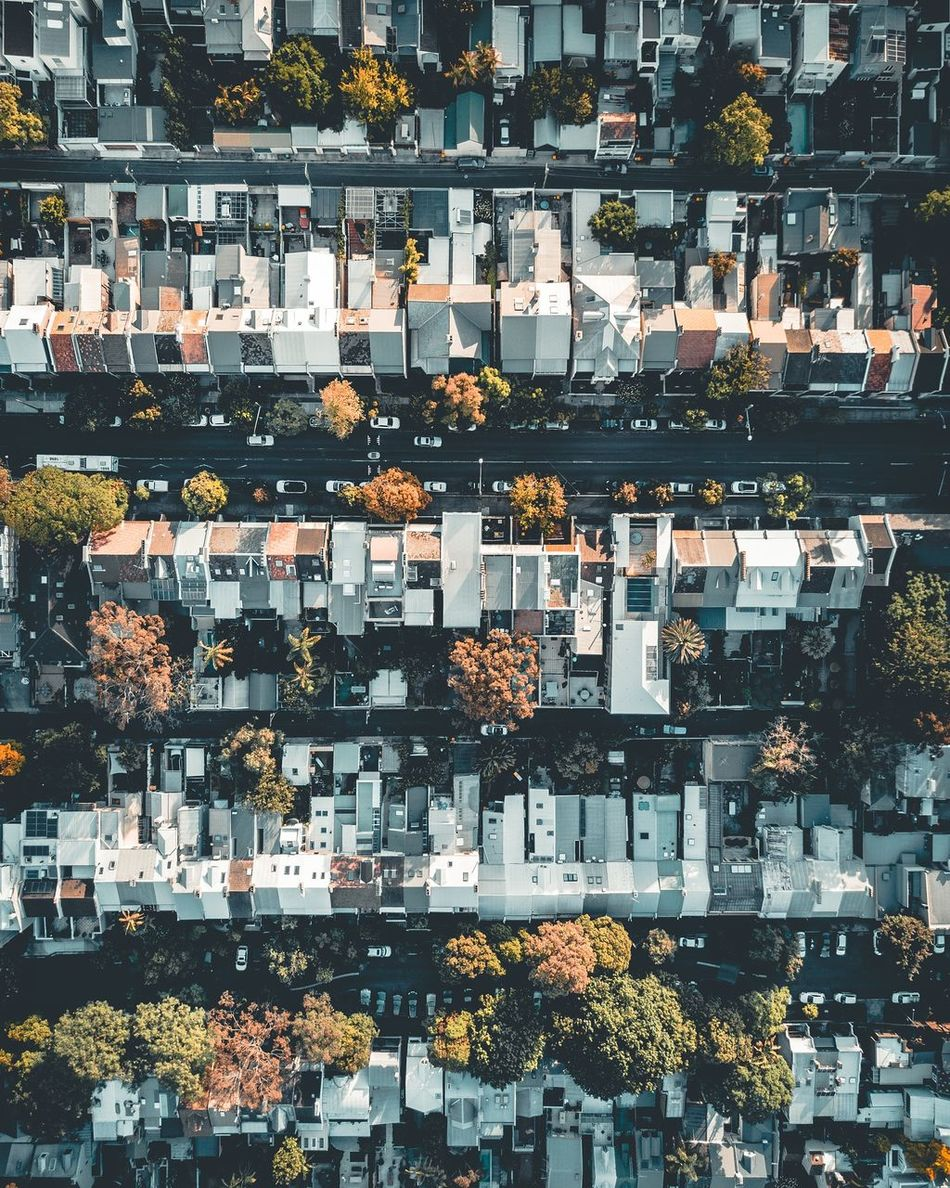 Little boxes. City Outdoors Day Sunset Calm Minimal Travel Modern Landscape Flying High Aerial View Aerial Photography Fast Street Road Scale  Looking Down From Above Cityscape No People Full Frame Aerial Aerialview