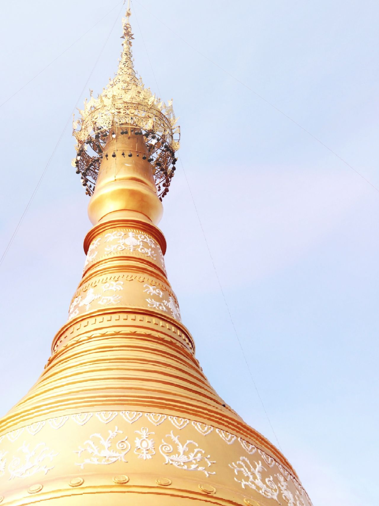 Religion Pagoda Gold Colored Travel Destinations Gold Beauty Arts Culture And Entertainment Architecture Travel Sky No People Outdoors Day