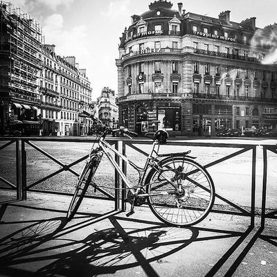 what do you feel right now? Opéra Streetphotography Blackandwhite Bicyle History Operagarnier City Buildings Architecture Travel Photography Paris Montmartre Art