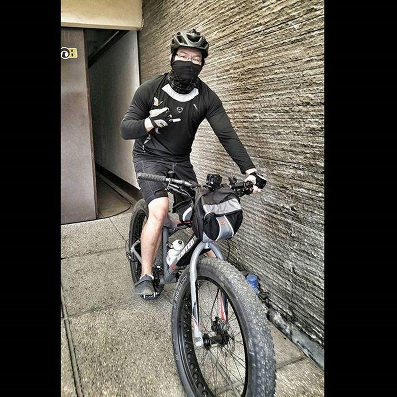 Sunday Morning Ride Bycicle Fatbike Fatbikes Fatbikeworld Reebok Mxl Mérida Folker Val  2016 LGG4 LG  G4 😚 Healthylifestyle Cardio Fitness