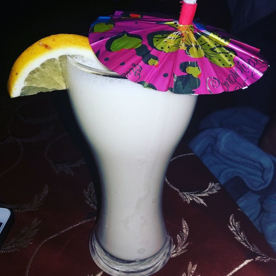 Virgin Pinacolada Drinks Food And Drink Pineapple🍍 Coconut Cream Indulgence Temptation Glass - Material