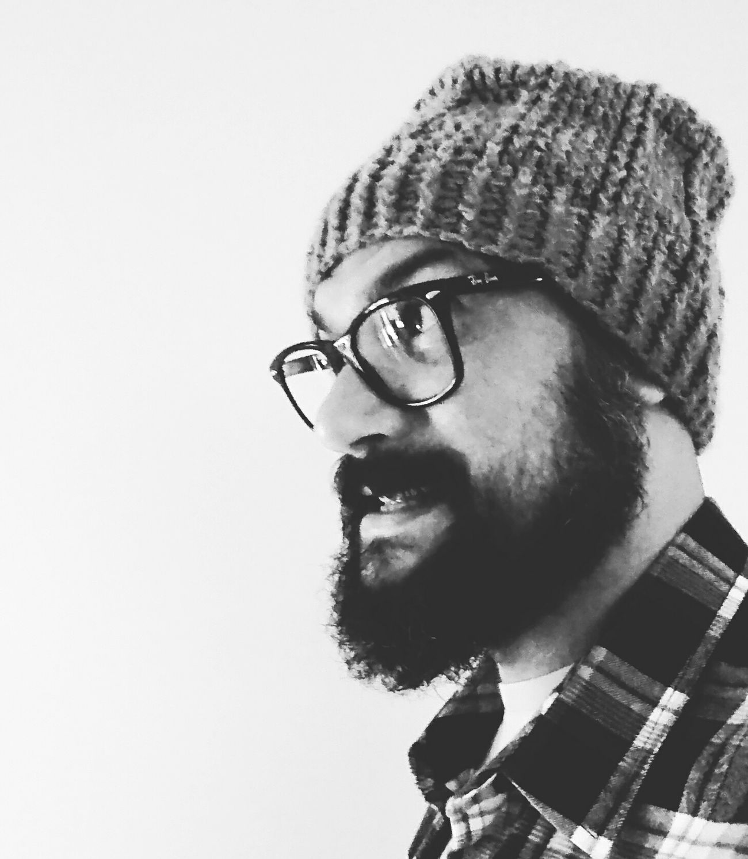 Man Homem Lumberjack Barba Touca Macho Selfie ✌ Blackandwhite Preto & Branco Natural