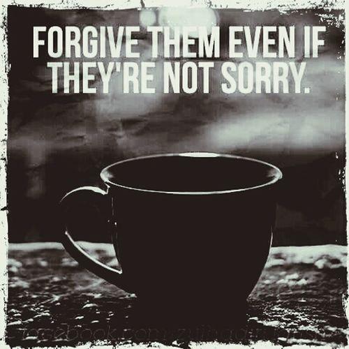 Forgive Forget Besorry Behappy Beblessed BeTHANKFUL Happysunday