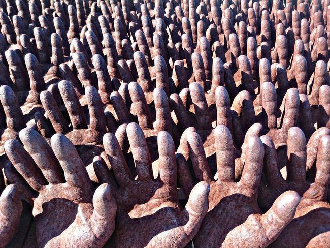 Peter Burke sculpture, Register 2003 Close-up Man Made Object Creativity Hands Peter Burke Sculpture Buddha Eden Garden Bombarral Portugal Buddha Eden Jardim Da Paz Repetition Oriental Garden Eyeemphoto