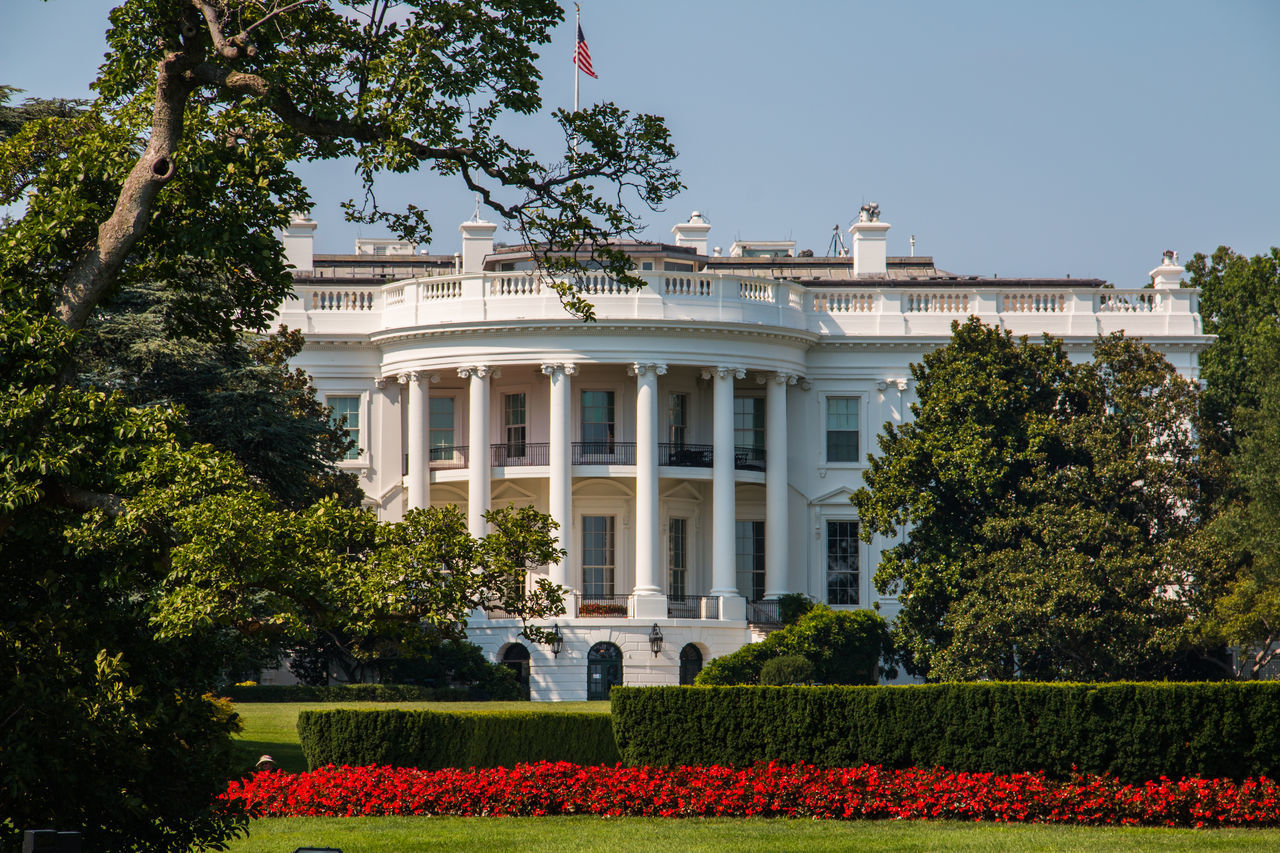 Beautiful stock photos of white house, American Culture, Architecture, Built Structure, Day
