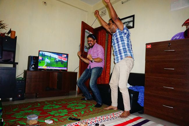 Winning The Game Reactions Interior Views Winning Moment Winning Reaction Hanging Out With Friends Having Fun Hangout Bachelor Life🙈 My Room My Room Stays Dirtyyyy  NEM Still Life The Enhanced Human Still Life Sony A6000 Urban Lifestyle Watching Tv Portrait Best Friends Hanging Out Relaxing Candid Photography Dhaka, Bangladesh