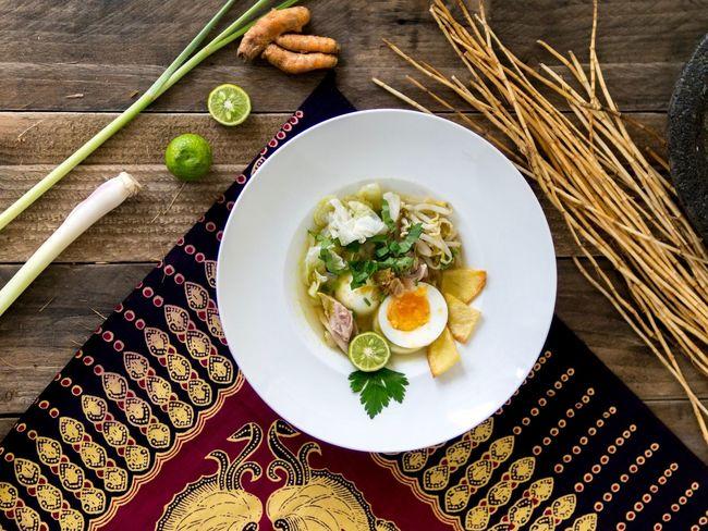 Soto ayam Soto Ayam Soto Ayam Chickens Food INDONESIA Meal