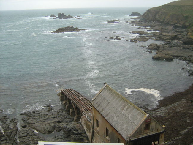 Abandoned lifeboat station at Lizard Point, Cornwall Abandoned Places Beach Coastline Cornish Cornwall Uk Horizon Over Water Launch Lifeboat Station... Lizard Point Outdoors Rocky Coastline Rough Ruined Sea And Sky Seascape Serpentine The Lizard Waterfront First Eyeem Photo