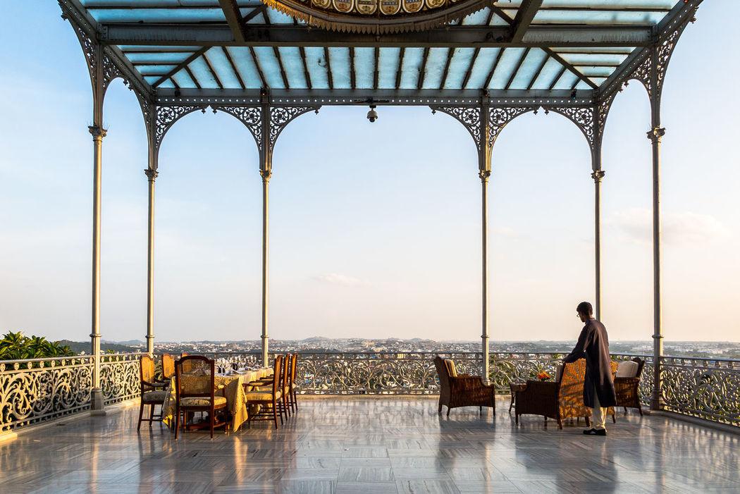 India Palast Teetime Balkony The Traveler - 2015 EyeEm Awards Capture The Moment