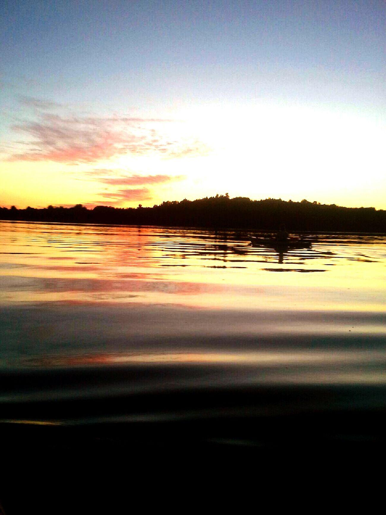 Sunset Kayaking Kayaking Vermontbyvermonters Hello World Sunset Shelburnepond Water