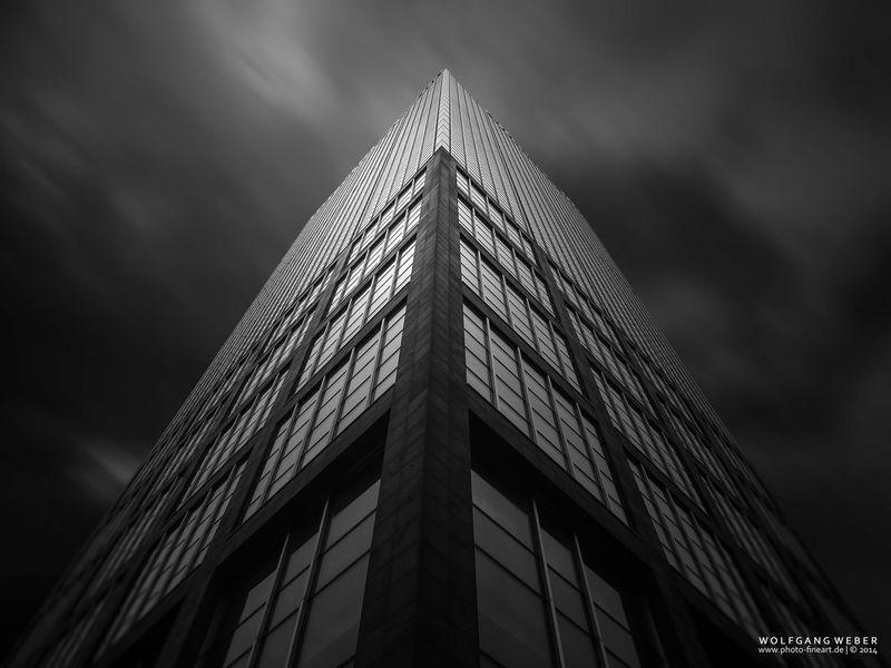 Darkness And Light Berlin Treptowers Black And White Blackandwhite Long Exposure Urban Geometry