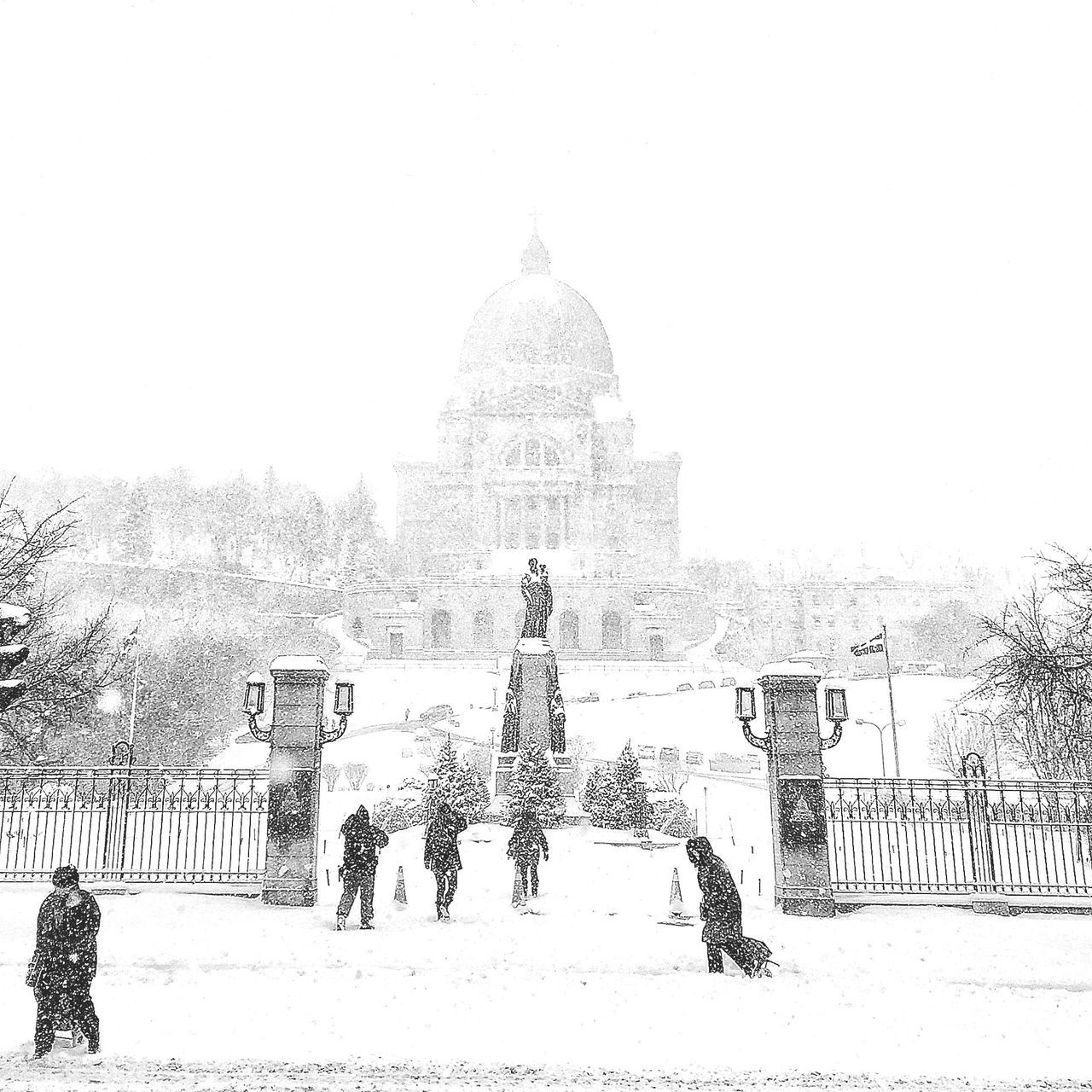 The Week Of Eyeem Architecture Snow Winter Montréal