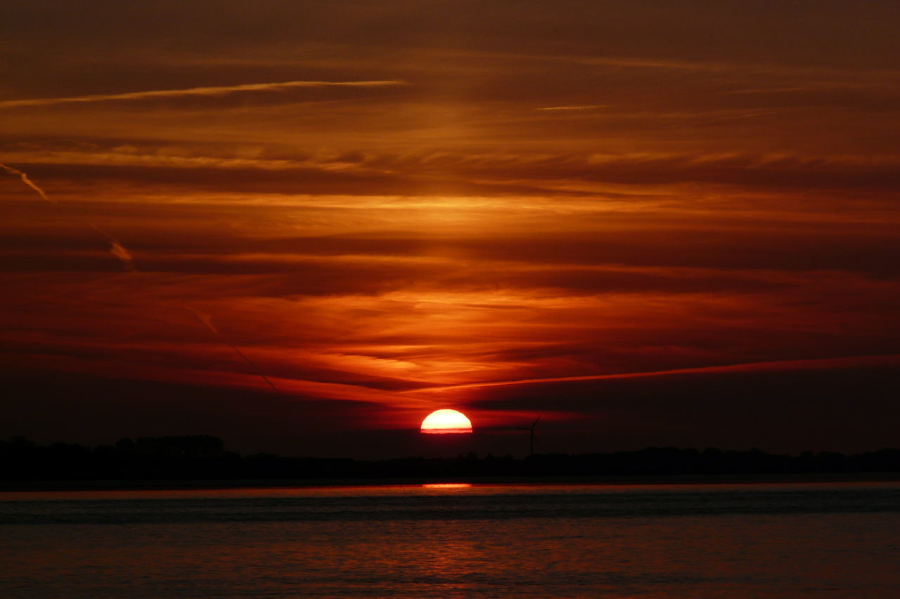 For You And You And You.... Sunset Reflection Scenics Cloud - Sky Beauty In Nature Sky Nature No People Tranquility Tranquil Scene Outdoors Water Sun Astronomy Galaxy Day