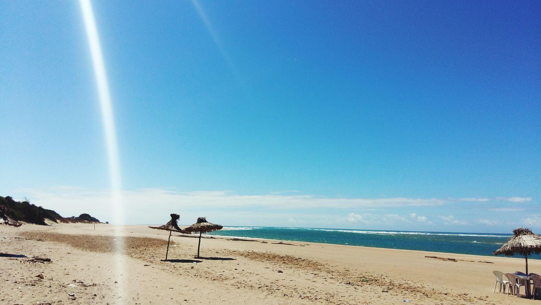 Starting A Trip Deap Blue Sea Blue Sky