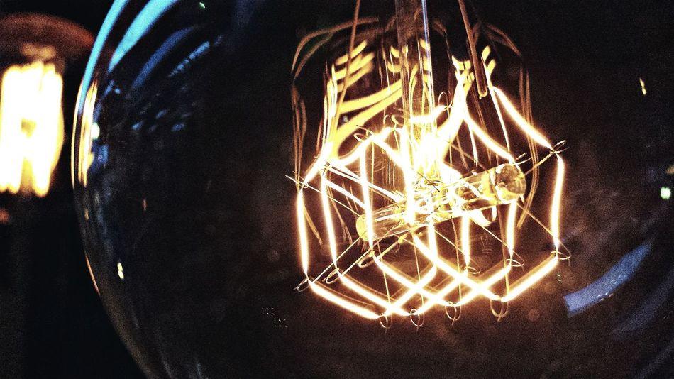 Taken whilst at work. Lightbulb Eletric Light Macro
