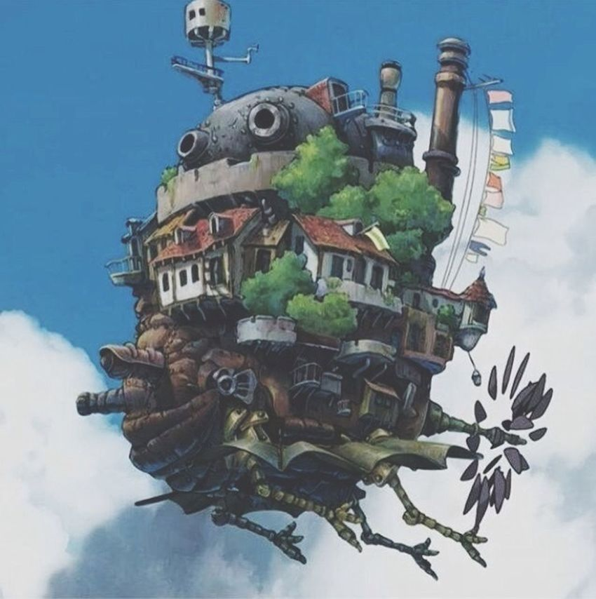 Ghibli Howl's Moving Castle