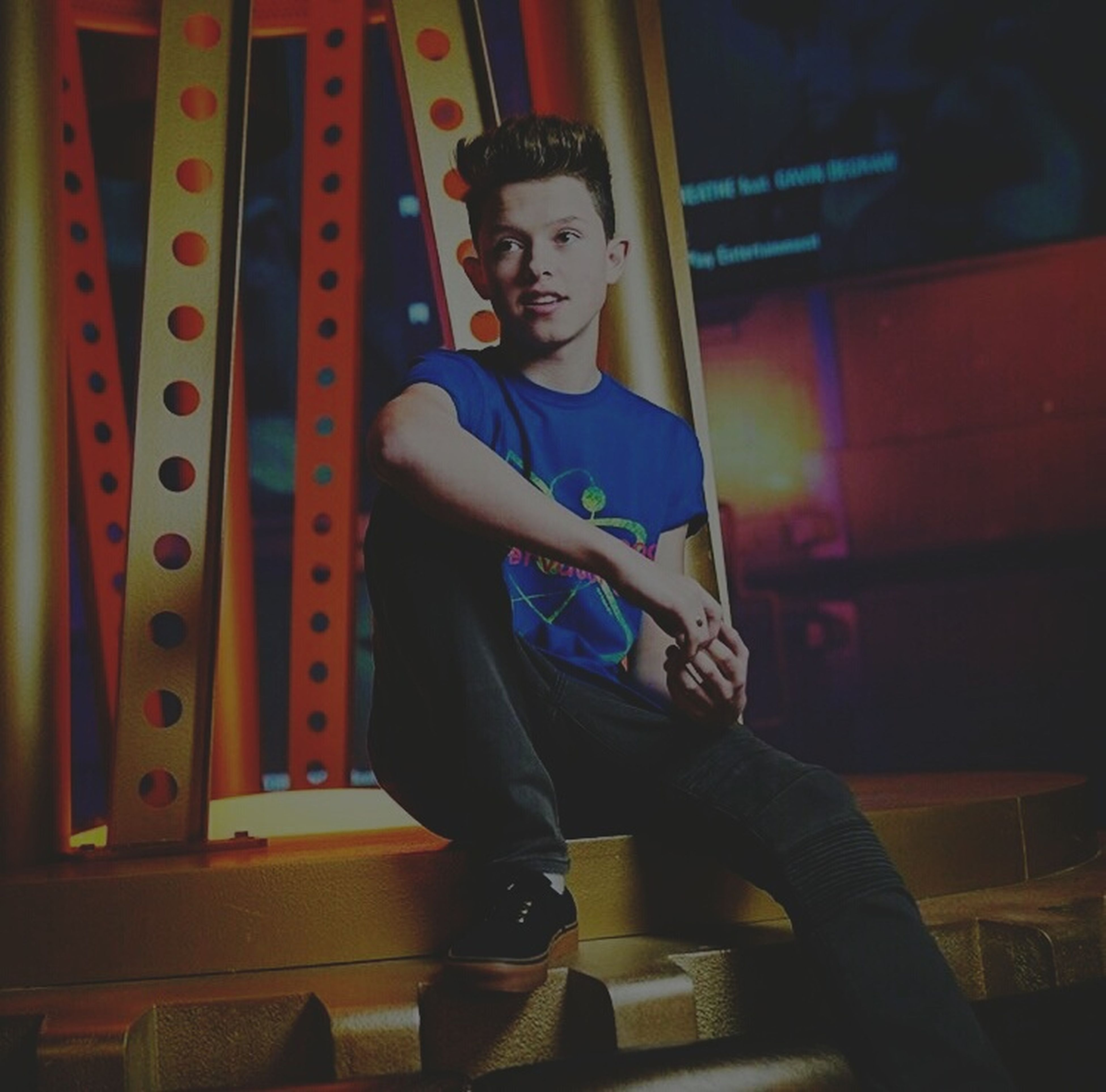 music, young adult, teenager, lifestyles, one person, arts culture and entertainment, portrait, people, indoors, musician, night, adult, adults only, one man only, snooker