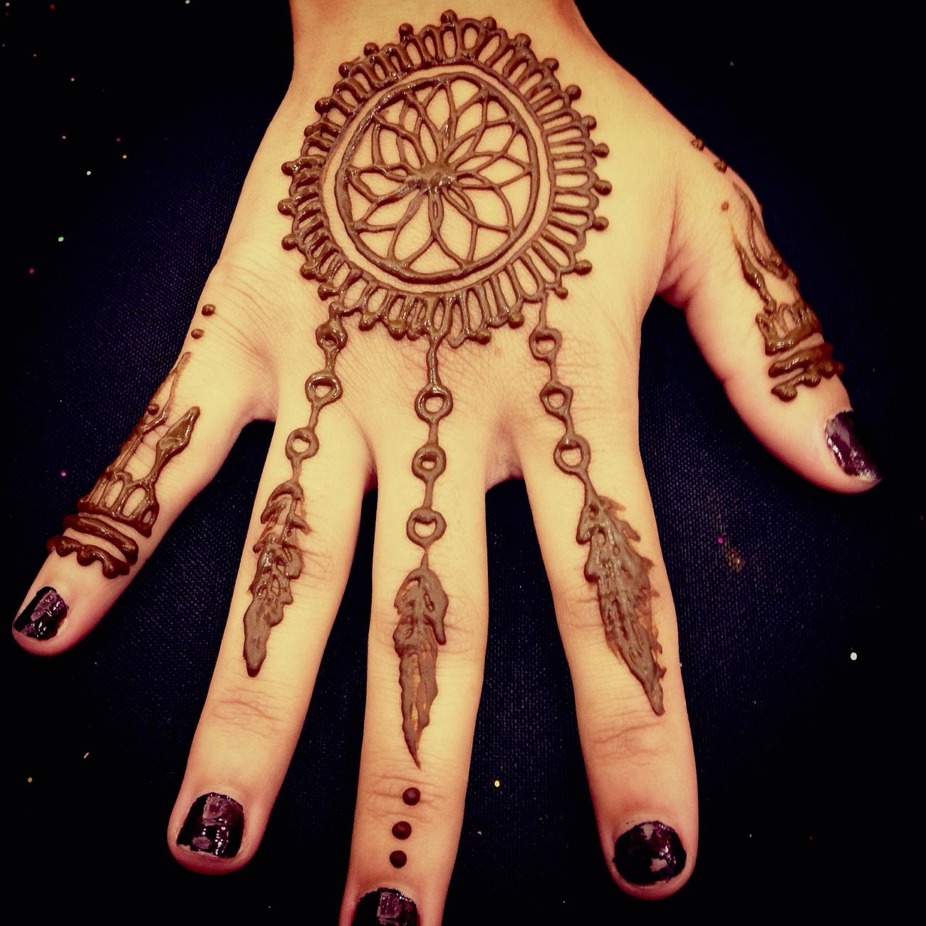 Mehndi Hands In Dream : Aneeta nashad the henna girl eyeem