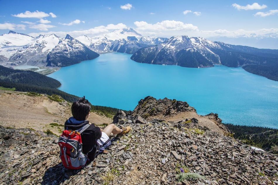 Beautiful stock photos of camping, Backpack, Beauty In Nature, Cliff, Cloud - Sky