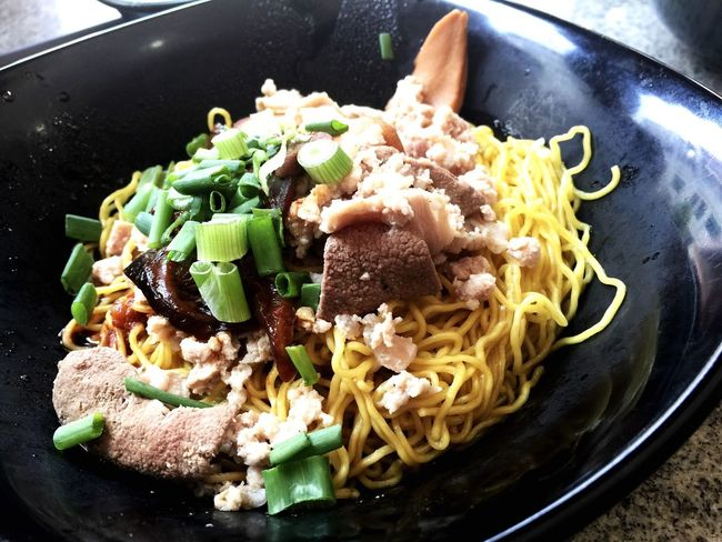 Abalon Noodle Seng Huat Singapore