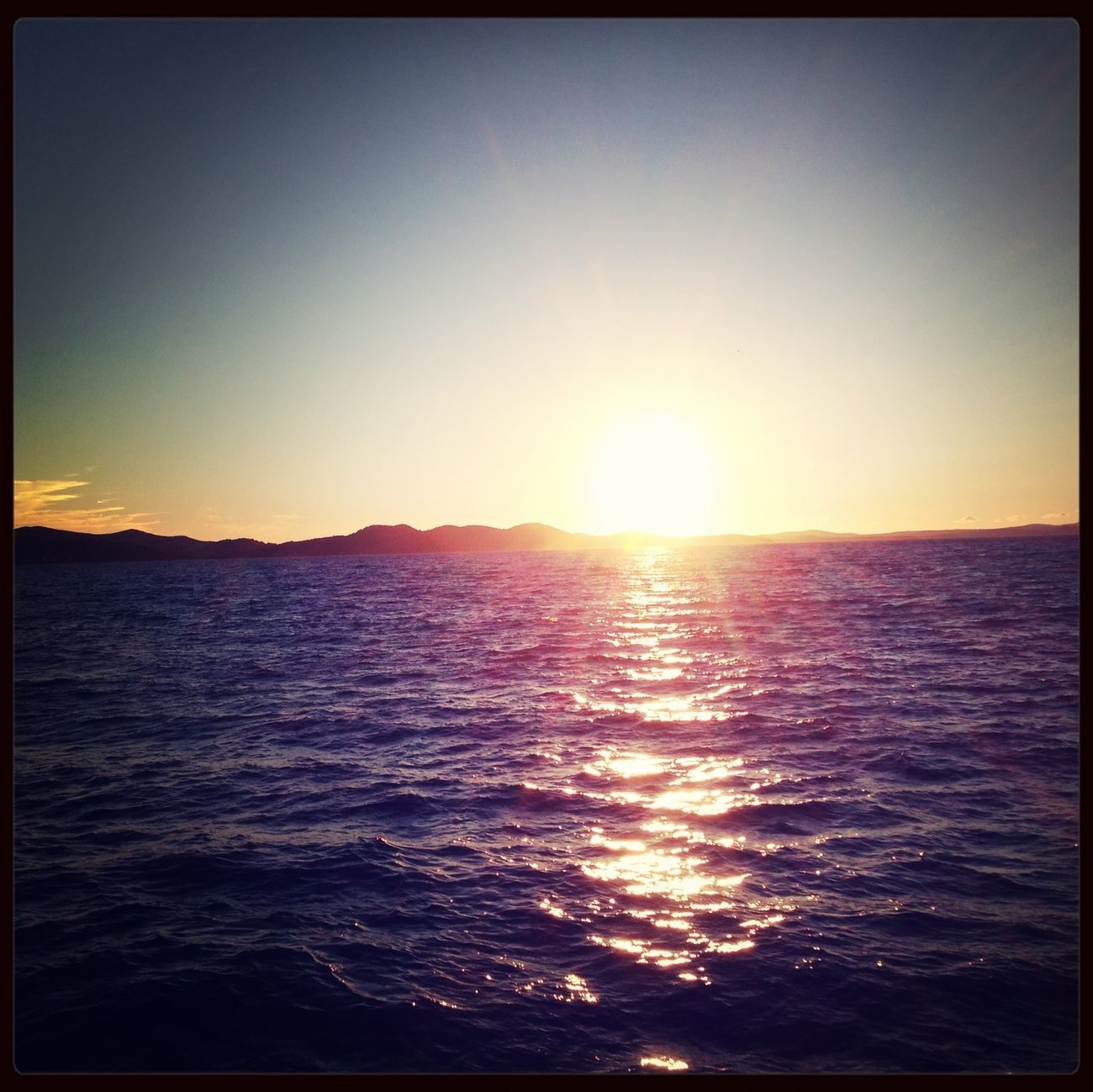Zadar Croatia Sunset IPhoneography