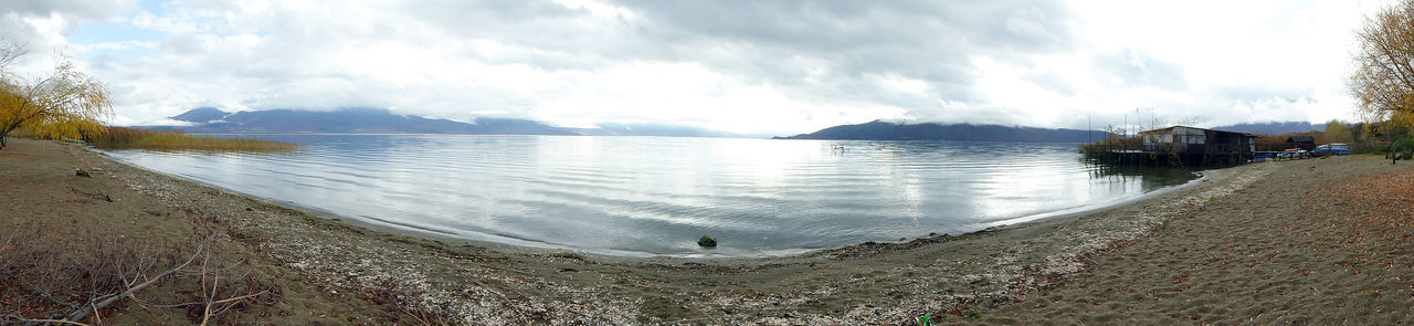 lake prespa in macedonia Balkans Beauty In Nature Cloud - Sky Day Lake Prespa Macedonia Nature No People Oh Outdoors Scenics Sky Sky And Clouds Willow