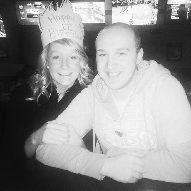 Bdubs with this boy and the fam! Bday