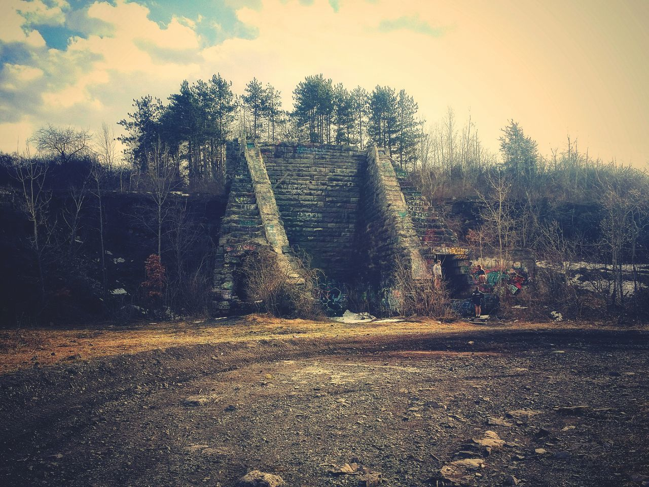 Haunted New York Check This Out Paranormalofcny Creepy Places Split Rock Quarry Old Ruin Abandoned_junkies Rural Exploration EyeEm Best Shots Outdoor Photography