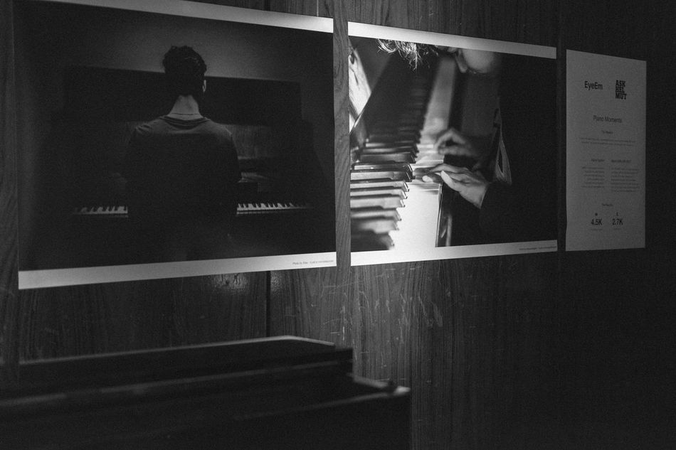 The Winner of the mission My Piano Moment are exhibited in FunkHaus Berlin for the http://www.pianoday.org/ ! EyeEmOnTheWalls Piano Piano Moments