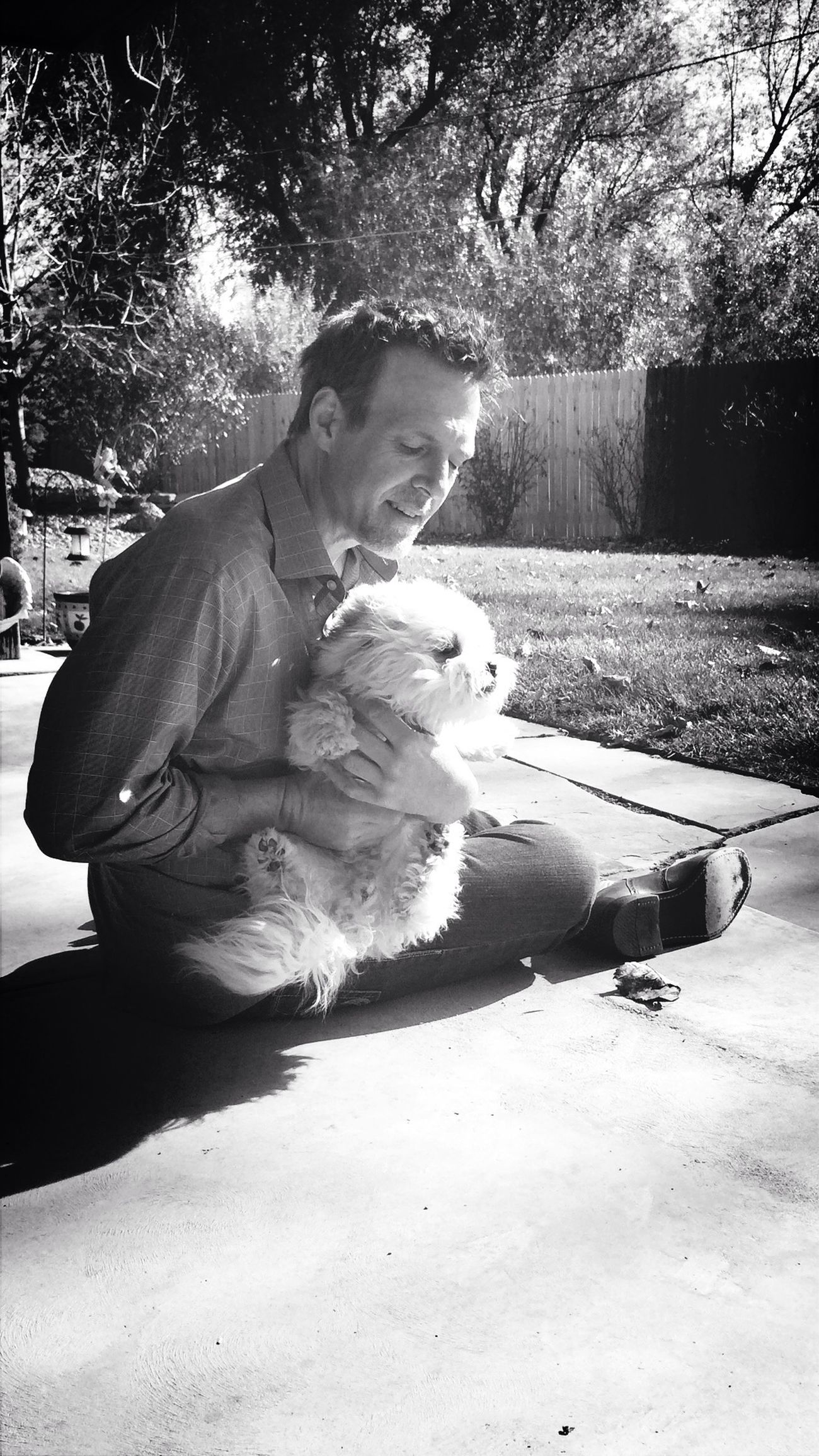 Autumn days driftin away... Blackandwhite Love EyeEm Nature Lover Backyard Bichonfrise