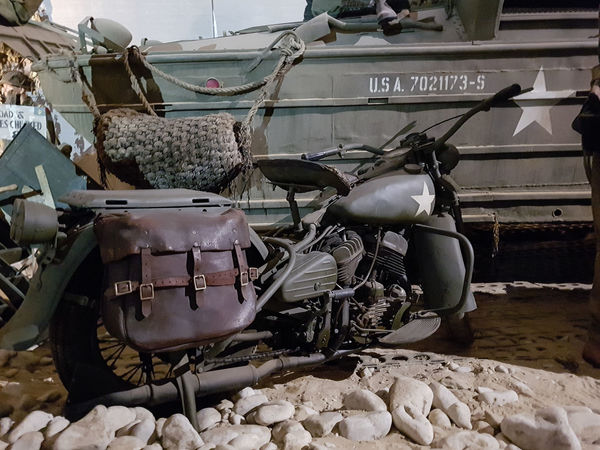 Overlord Museum, Colleville-sur-mer, Normandy, France, July 2017 D-Day Harley Davidson Operation Overlord Overlord Museum Education Exhibition Exhibits History Military Mode Of Transport Museum Overlord Transportation Your Ticket To Europe The Week On EyeEm