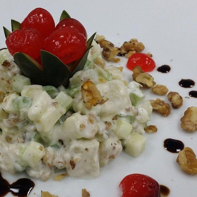 EnsaladaWaldorff CocinaGourmet Gastronomía Foodporn