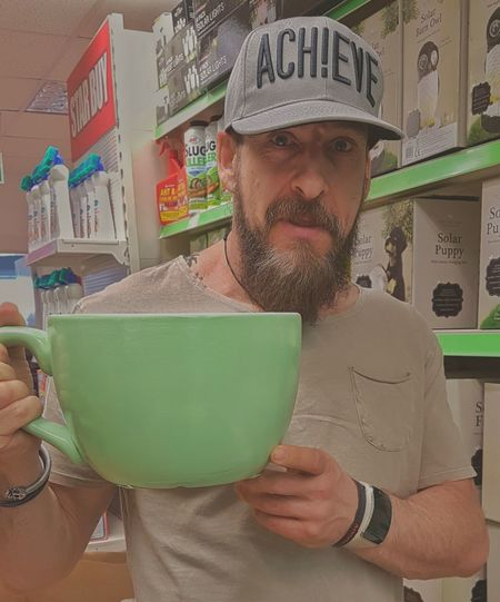 Did someone say they where makin a cuppa? I've brought my own cup. Beard One Person Portrait Bearded Oaf For The Love Of Photography Samsung Galaxy S7 Edge Phone Photography One Man Only Coffee - Drink Indulgence Cup Cuppa