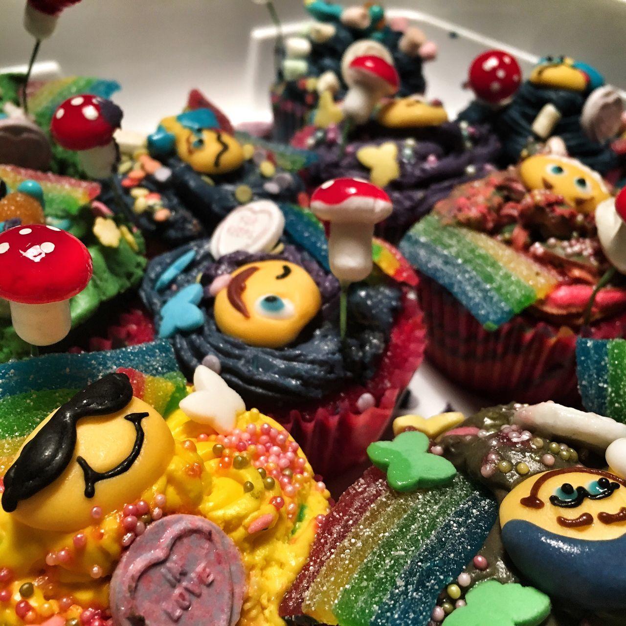 Rainbow Cupcakes  Gay Gay Pride Gay Cupcakes
