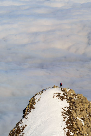 Hiking Säntis Cloud - Sky Hiking Adventures Hikingadventures Mountain Switzerland Tracking