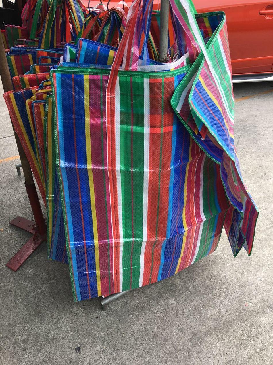 Fasion Style Multi Colored No People Variation Day Outdoors Close-up Bag กระเป๋าถุงสีรุ้ง Collection Balenciaga Balenciaga Bag