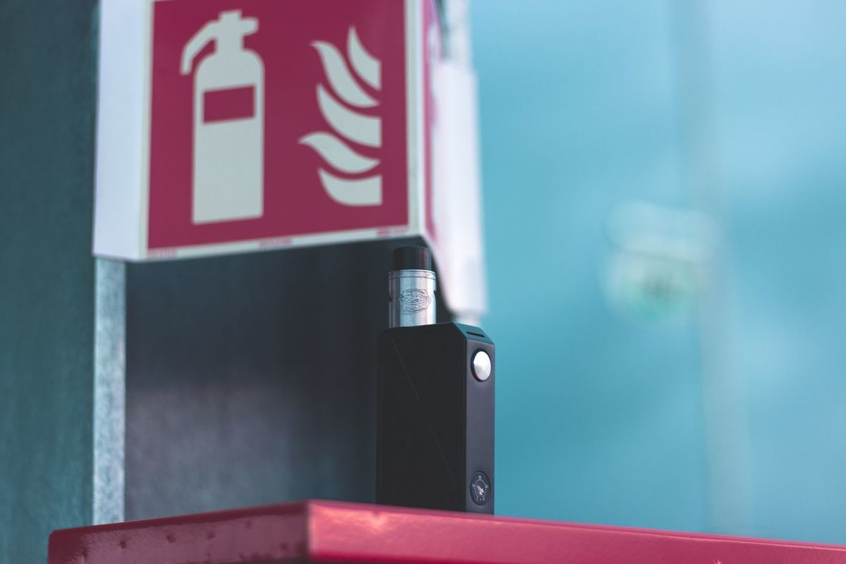 EyeEm Best Shots Eye4photography  Vape Communication No People Focus On Foreground Red Close-up Day Indoors  Technology