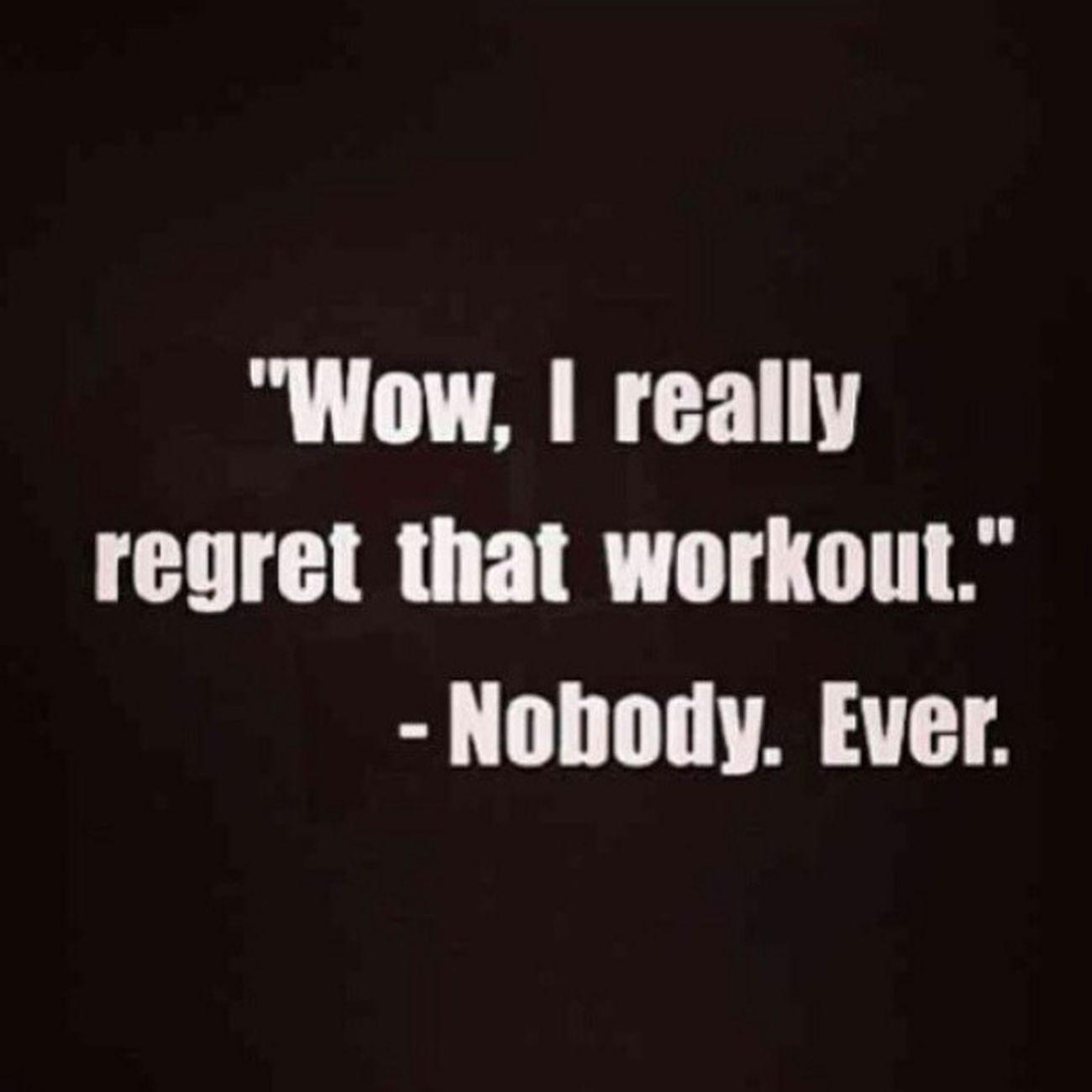 Nobody. Ever. Werkit