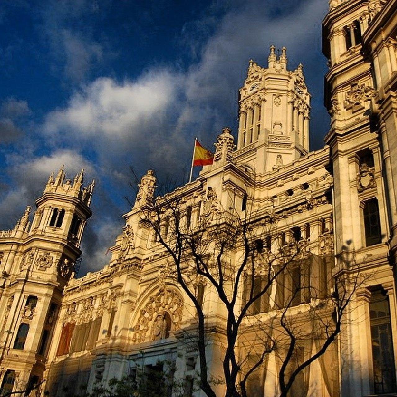 Telecomunicaciones Madrid Cibeles Espa ña SPAIN dotspin