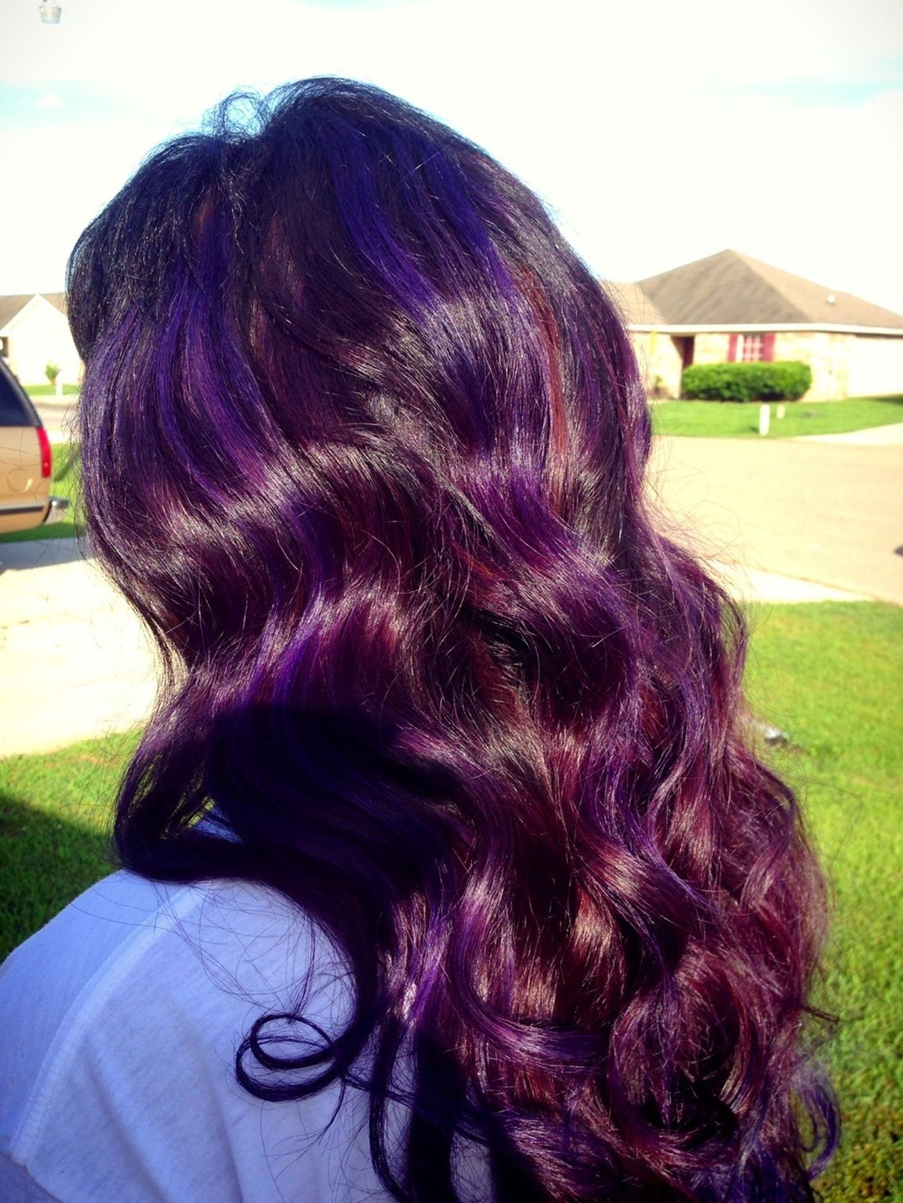 Purple Hair Dont Care
