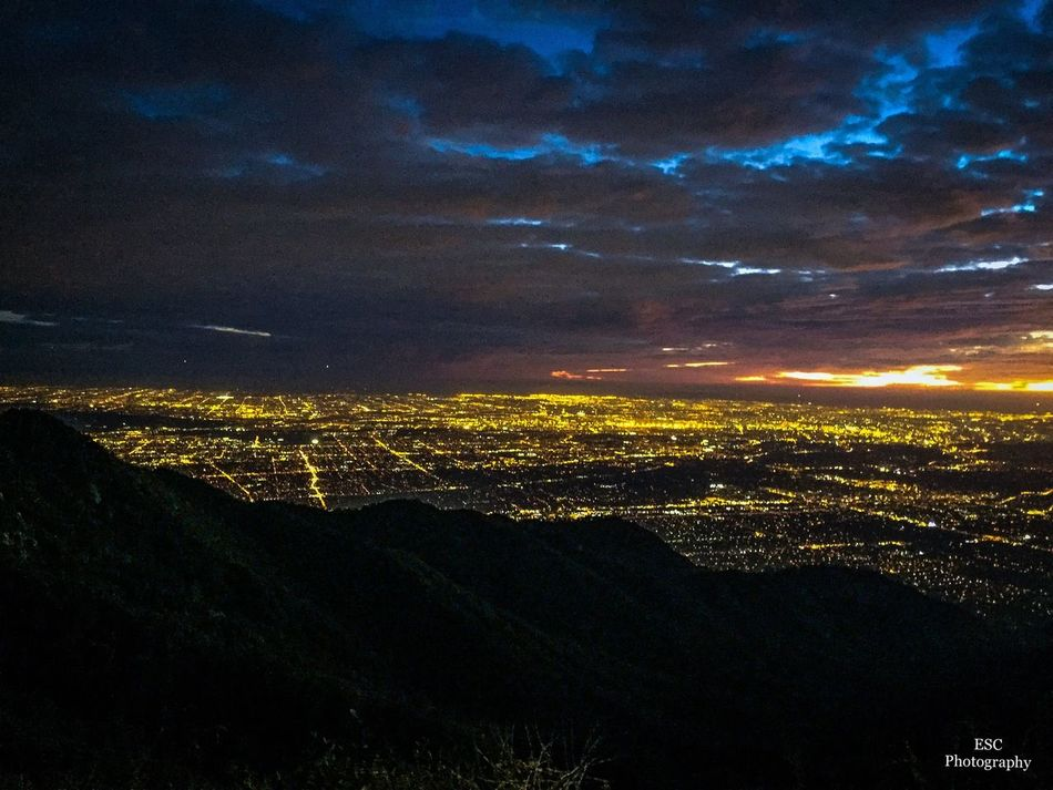 Top of Mt Wilson. Night City Cityscape No People Outdoors Beauty In Nature Tranquility Travel Destinations AngelesCrest Nature Photographer Photography Mountain Exploring Sunset Mtwilson MountWilsonViews