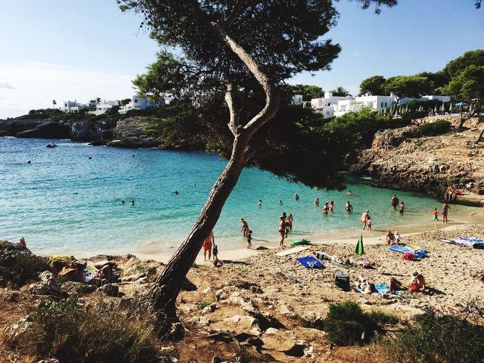 Being A Beach Bum Sunshine Swimming Relaxing Enjoying The Sun Beautiful Water Palma De Mallorca❤ Bestholiday Enjoying Life