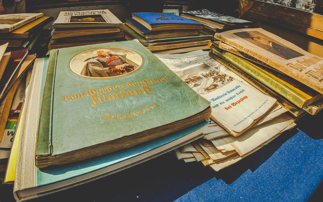 Old german Books at a flea market Books EyeEm Best Shots EyeEm Gallery Flea Markets Fleamarket German History Market Memories Old Old Books Paper Peddlers Market Perspective Photography