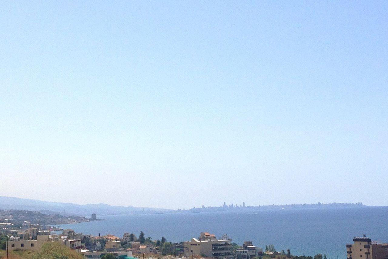 Beirut From My Window Lebanon Blue East Mediterranean Mediterranean Sea