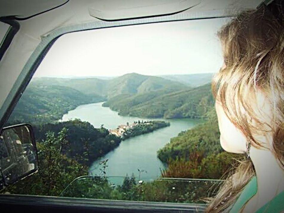 apreciando a paisagem.... Dornes Ferreira Do Zezere Natureza Nature ♡ Beautiful Nature River Observation Paisagem Passear Landscape