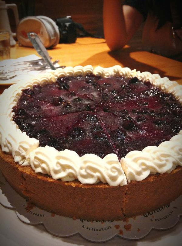 Blueberry Cheesecake. Satisfying thy sweet tooth and random cravings. Cakes Blueberries Cheesecake♥ Dessert