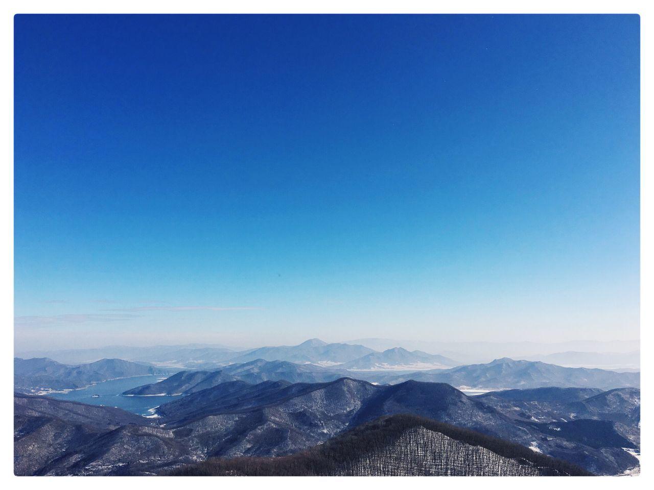 Mountain Range Sky Day